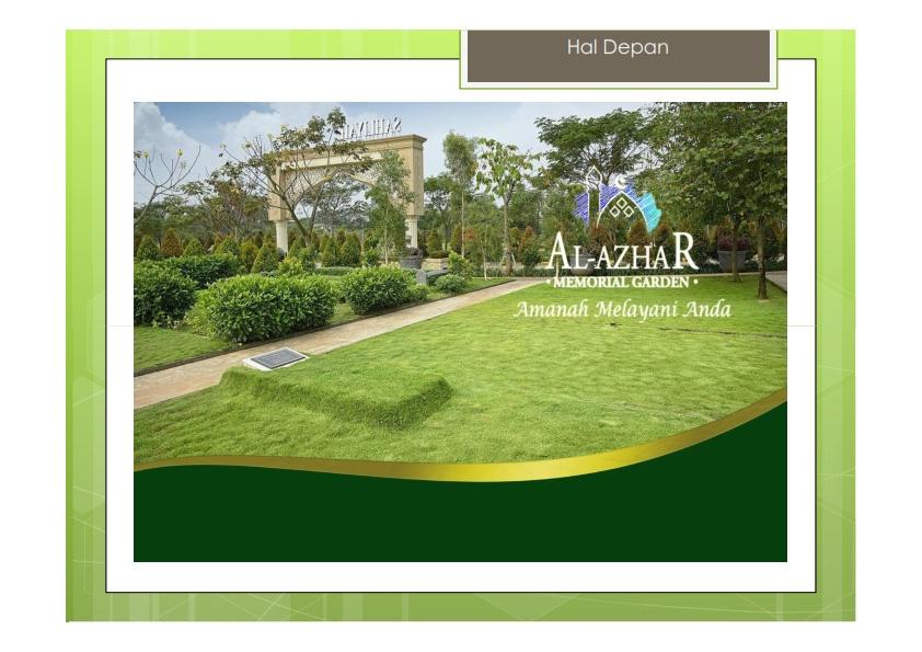 Al-AzhaR Memorial Garden, Karawang – Jawa Barat