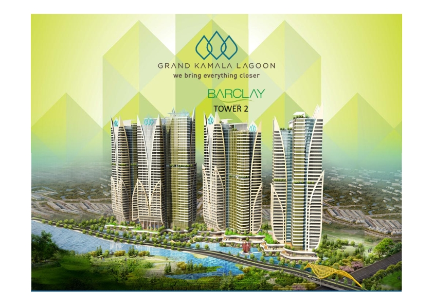 Grand Kamala Lagoon (Barclay Tower) by PP Properti – Bekasi